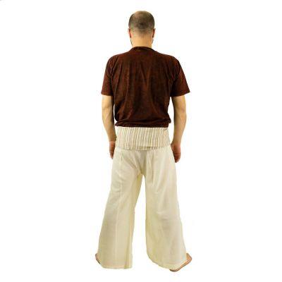 Zavinovací kalhoty Fisherman's Trousers - béžové Nepal