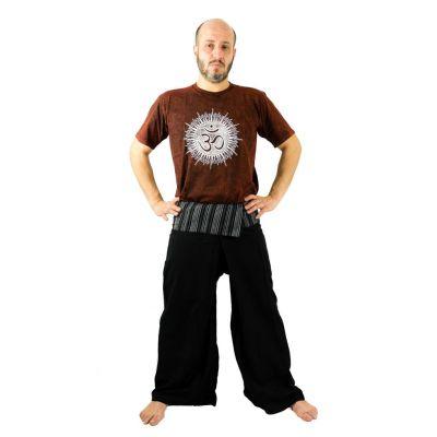 Kalhoty Fisherman's Trousers - černé