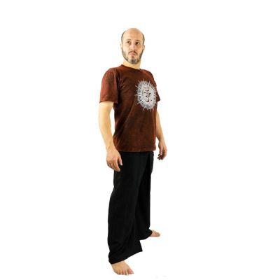 Zavinovací kalhoty Fisherman's Trousers - černé Nepal