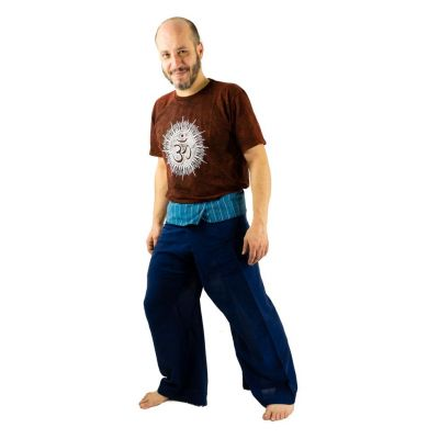 Kalhoty Fisherman's Trousers - modré