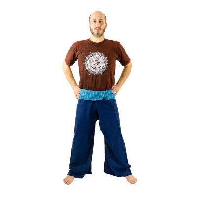 Zavinovací kalhoty Fisherman's Trousers - modré