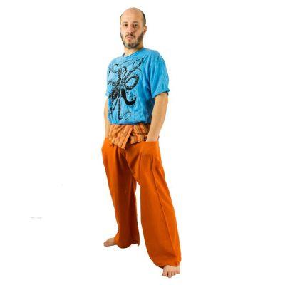 Kalhoty Fisherman's Trousers - oranžové