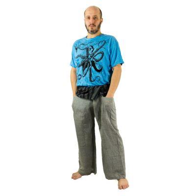 Kalhoty Fisherman's Trousers - šedé