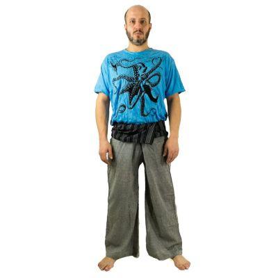Zavinovací kalhoty Fisherman's Trousers - šedé