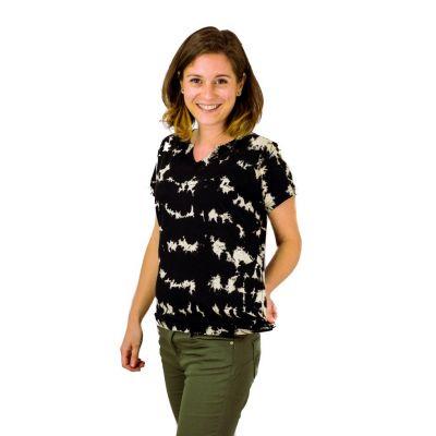 Dámské tričko s krátkým rukávem Benita Black