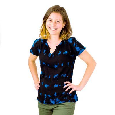 Dámské tričko s krátkým rukávem Benita Blue