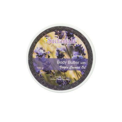 Tělové máslo Sudamala Lavender