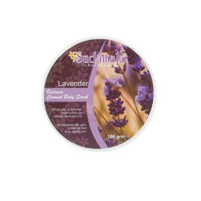 Tělový peeling Sudamala Lavender