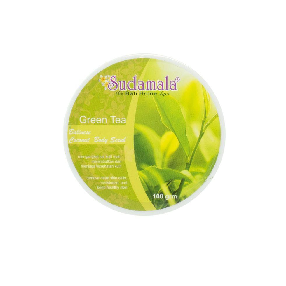 Kokosový tělový peeling s vůní zeleného čaje
