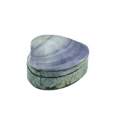 Šperkovnice mušle - malá, fialová