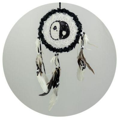 Lapač snů Yin&Yang Black