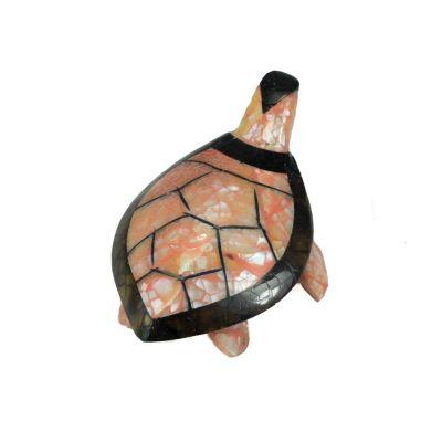 Soška Želvička - růžovočerná