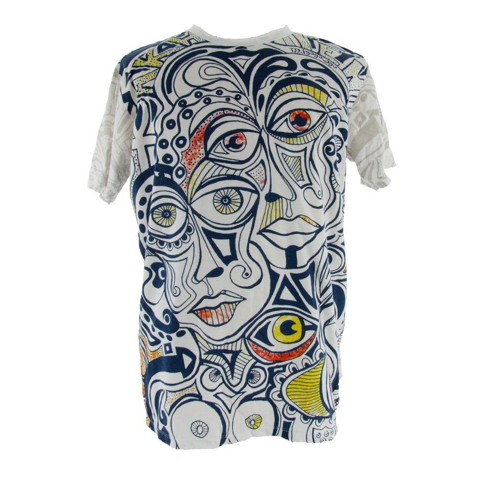 Tričko značky Mirror - Cubism
