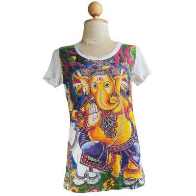 Dámské tričko Ganapati White