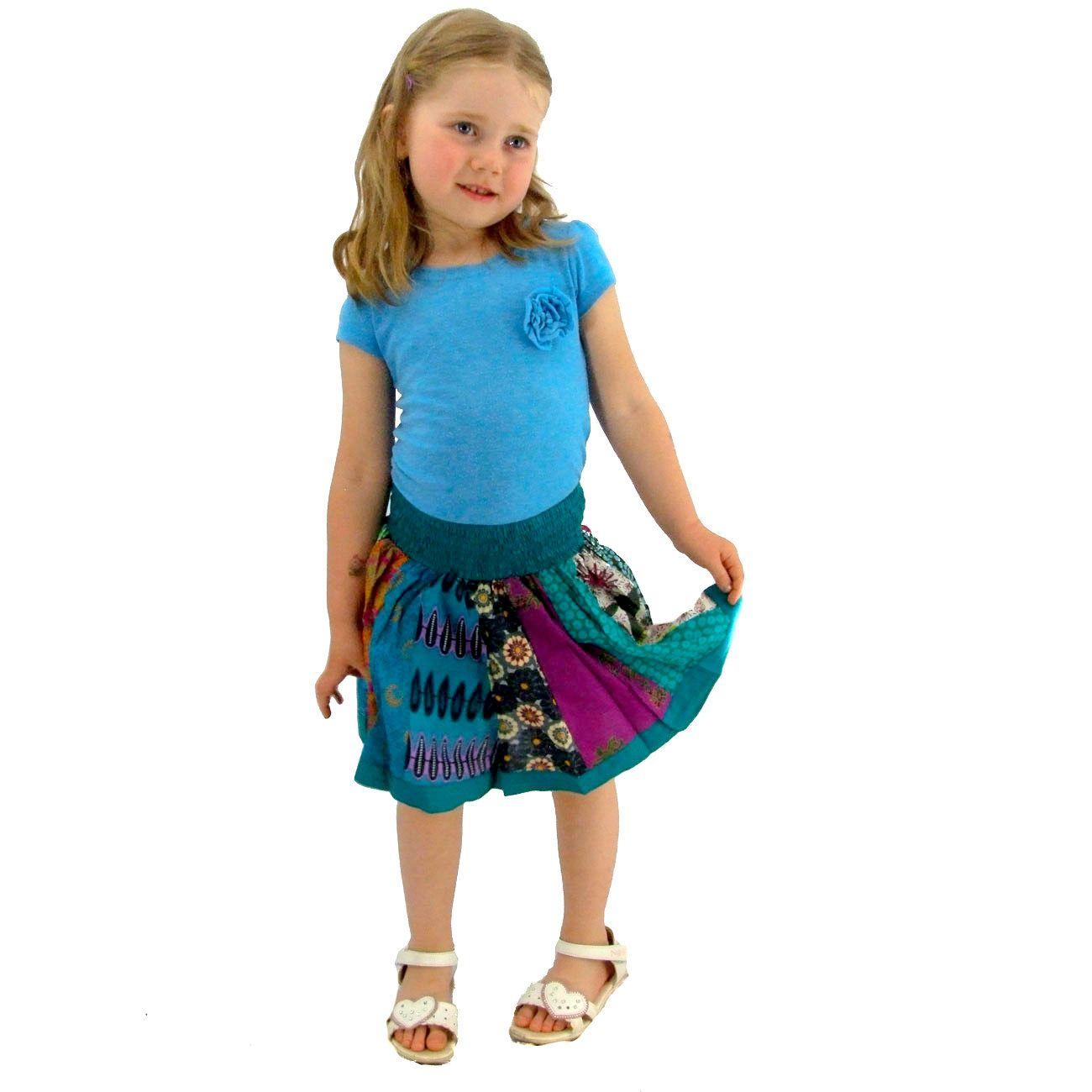 Dětská sukýnka Karishma Turquoise