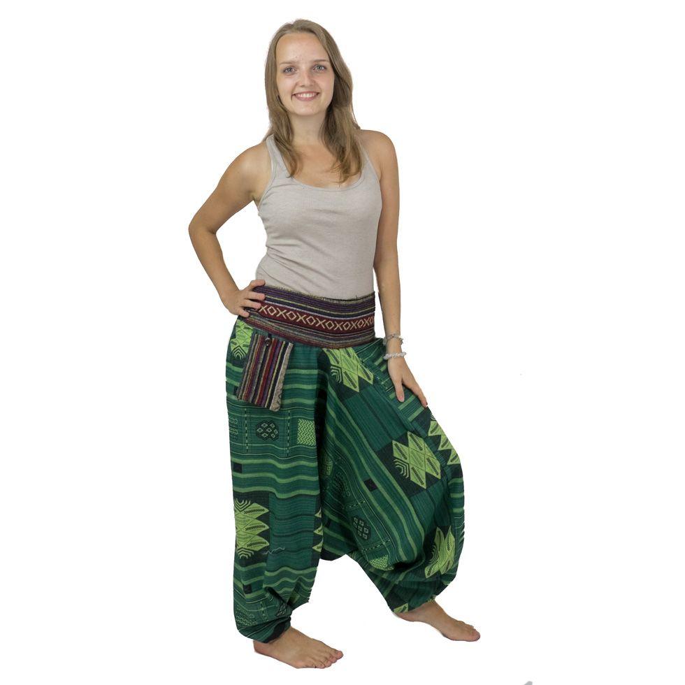 Turecké kalhoty Anuthat Lawn