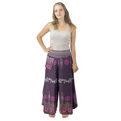 Kalhoty Benyapa Purple