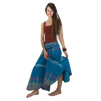 Kalhoty Benyapa Turquoise