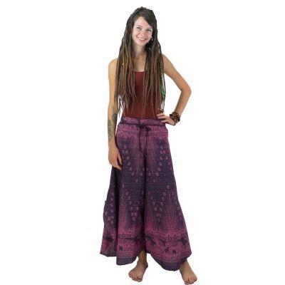 Kalhoty Benyapa Ungu