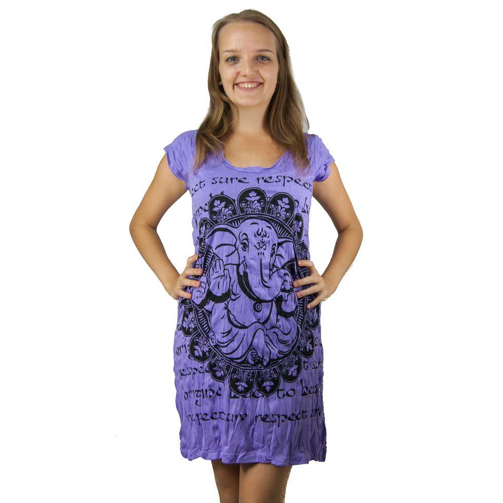 Šaty (tunika) Sure Ganesh Purple