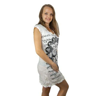 Šaty (tunika) Sure Ganesh White