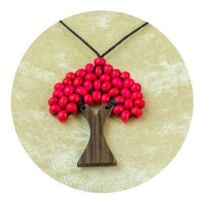 Přívěsek Stromek - růžový
