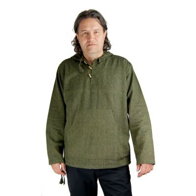 Kurta Ganet Khaki - pánská košile s dlouhým rukávem