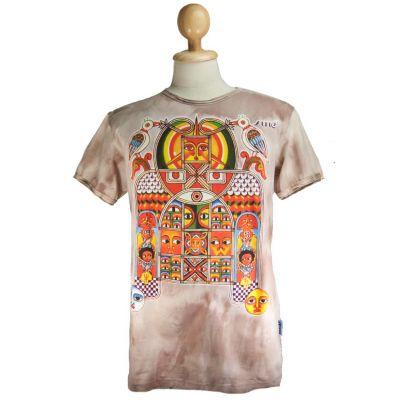 Pánské tričko Sure Aztec Day&Night Brown | M, L, XL, XXL