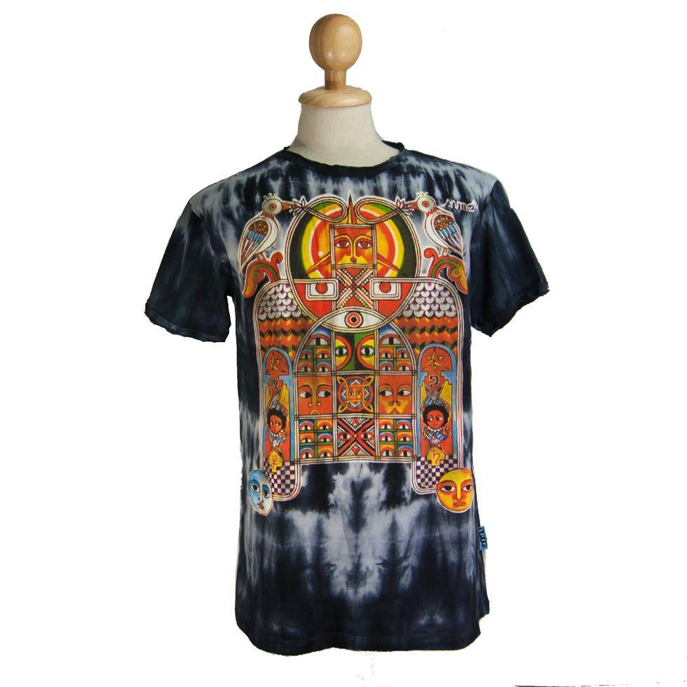 Pánské tričko Sure Aztec Day&Night Black