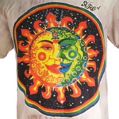 Pánské tričko Sure Celestial Emperors Brown