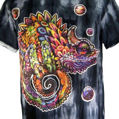 Pánské tričko Sure Chameleon Black