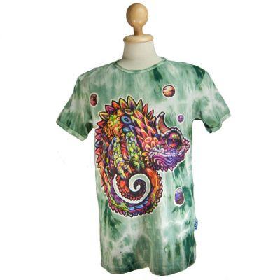 Tričko Chameleon Green