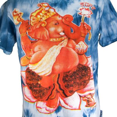 Pánské tričko Sure Ganesh on Lotus Blue