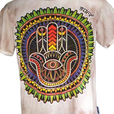 Pánské tričko Sure Hand of Fatima Brown
