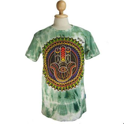Pánské tričko Sure Hand of Fatima Green