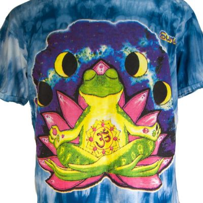 Pánské tričko Sure Meditating Frog Blue