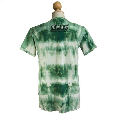Pánské tričko Sure Meditating Frog Green