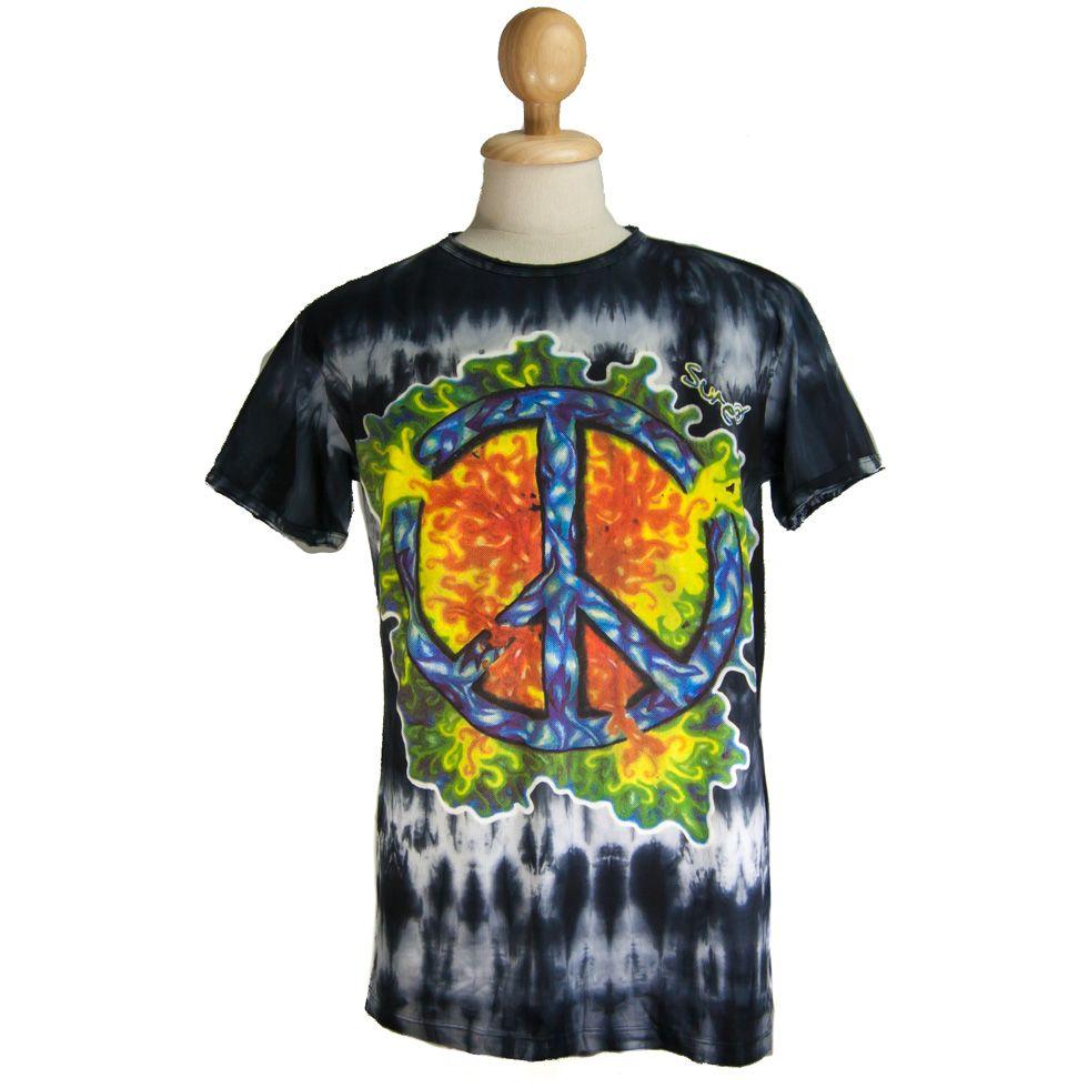 Pánské tričko Sure Peace Black