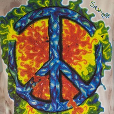 Pánské tričko Sure Peace Brown