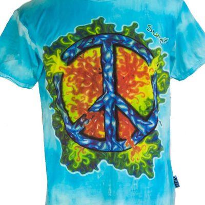 Pánské tričko Sure Peace Turquoise