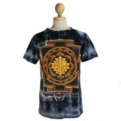 Tričko Sri Yantra Black