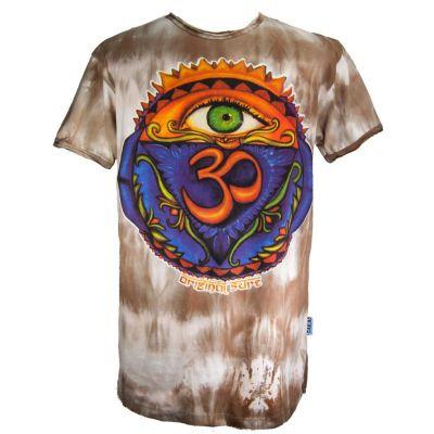 Pánské tričko Sure Third Eye Brown