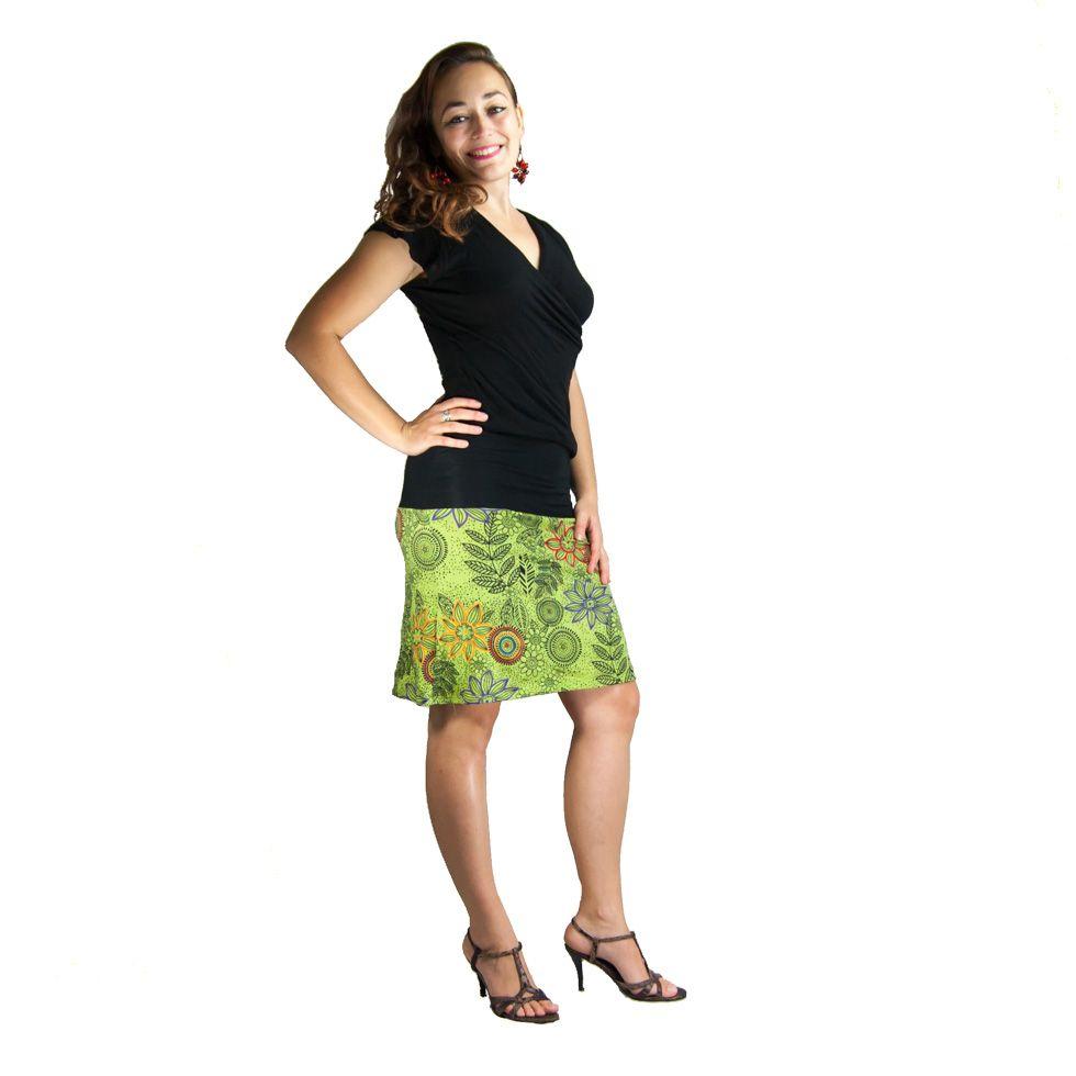 Sukně střední délky Ibu Bahar