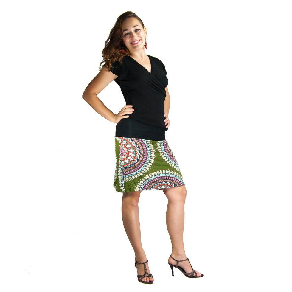 Sukně střední délky Ibu Fabienne