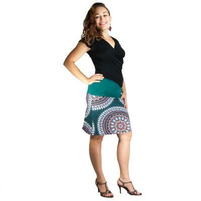 Sukně střední délky Ibu Ogechi