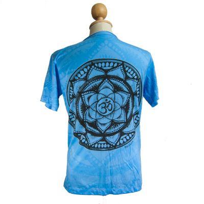 Tričko značky Mirror - Holy Lotus Turquoise