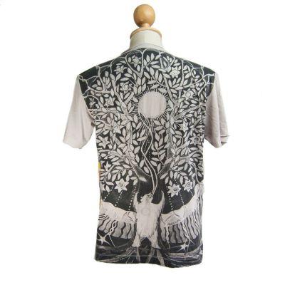 Tričko značky Mirror - Magical Tree Beige