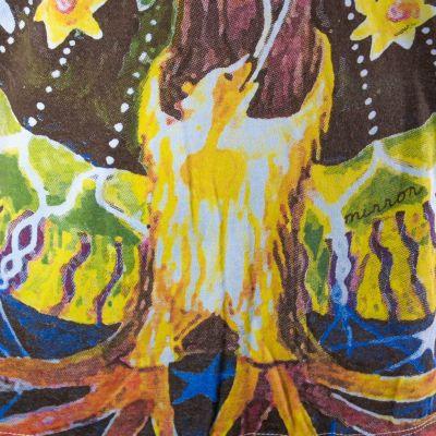 Tričko značky Mirror - Magical Tree Turquoise