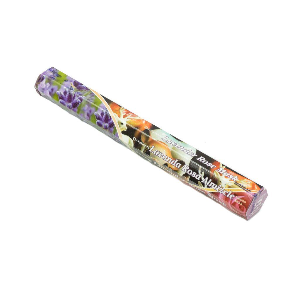 Vonné tyčinky Darshan Lavender Rose Musk