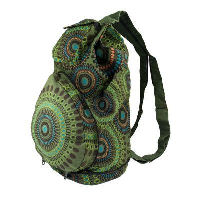 Batoh Mandala Green